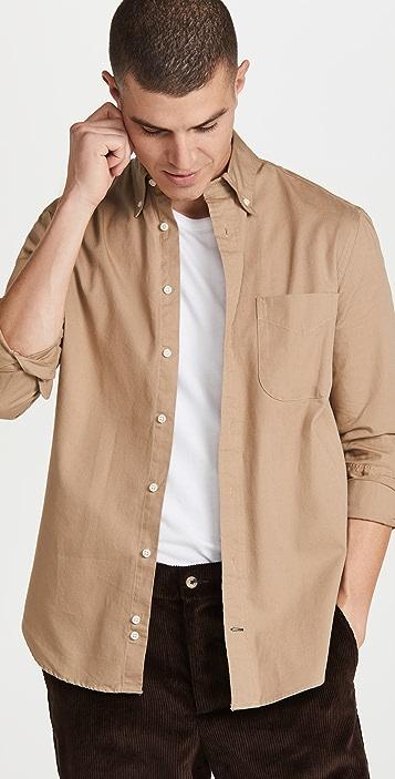 Gitman Vintage Overdyed Oxford Button Down Shirt