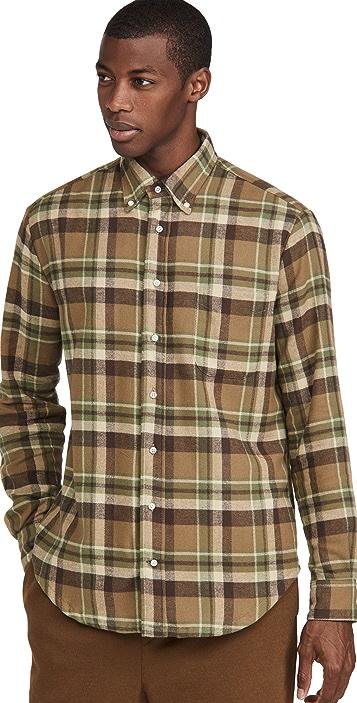 Gitman Vintage Country Plaid Button Down Shirt