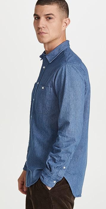 Gitman Vintage Denim Two Pocket Workshirt