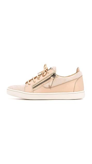 Giuseppe Zanotti Suede Sneakers