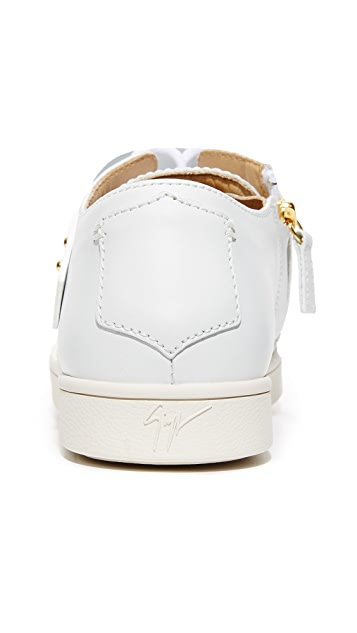 Giuseppe Zanotti Lace Up Sneakers