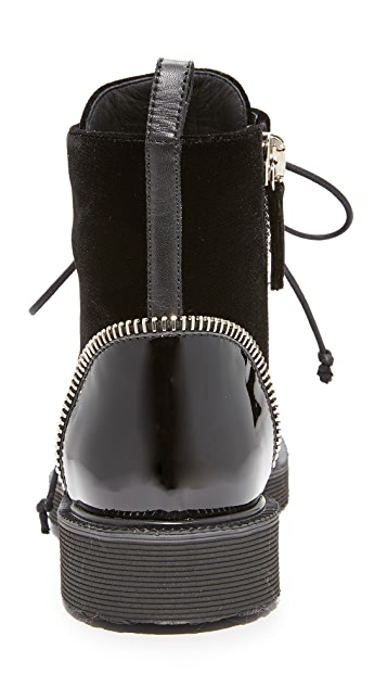 Giuseppe Zanotti Hilary Lace Up Booties
