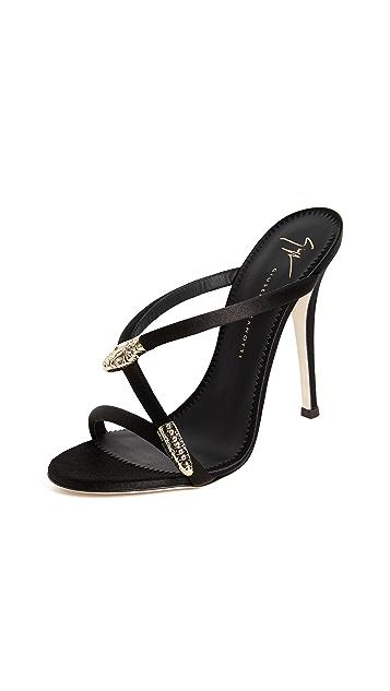 Giuseppe Zanotti Heeled Mule Sandals