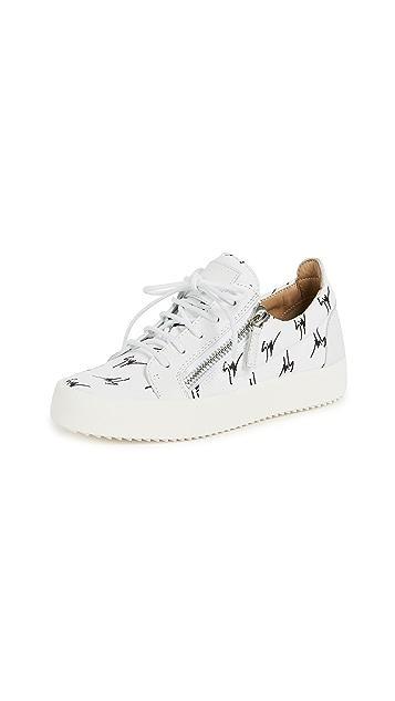 Giuseppe Zanotti Zip Sneakers