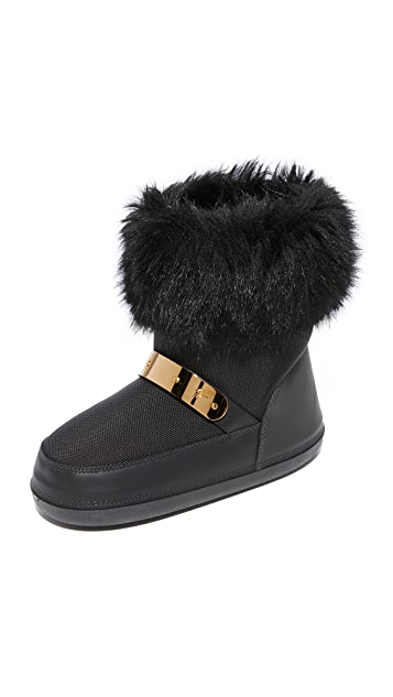 Giuseppe Zanotti Snow Boots with Faux Fur