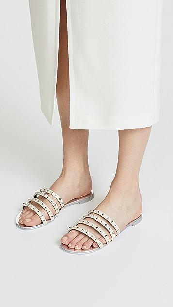 Giuseppe Zanotti Strappy Stud Sandals