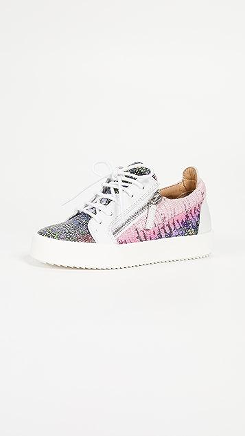 Giuseppe Zanotti Zip Side Sneakers