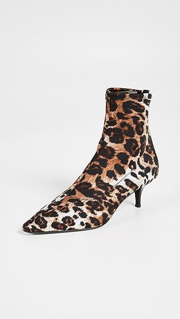Giuseppe Zanotti Kitten Heel Booties
