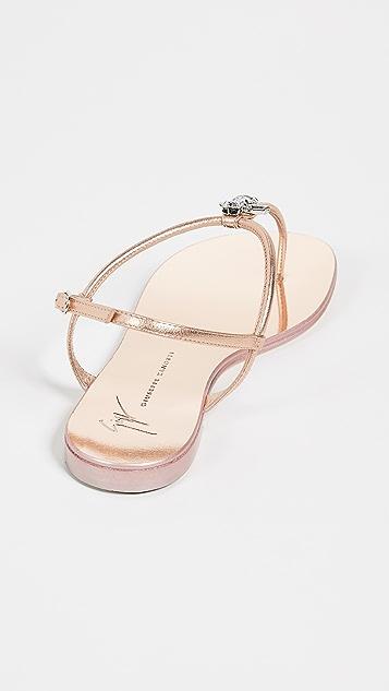 Giuseppe Zanotti Thong Sandals