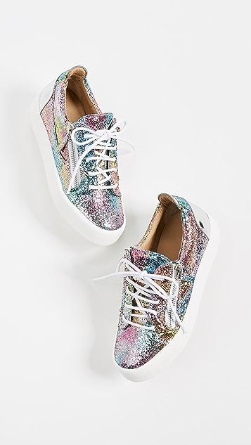 Giuseppe Zanotti May Zip Sneakers