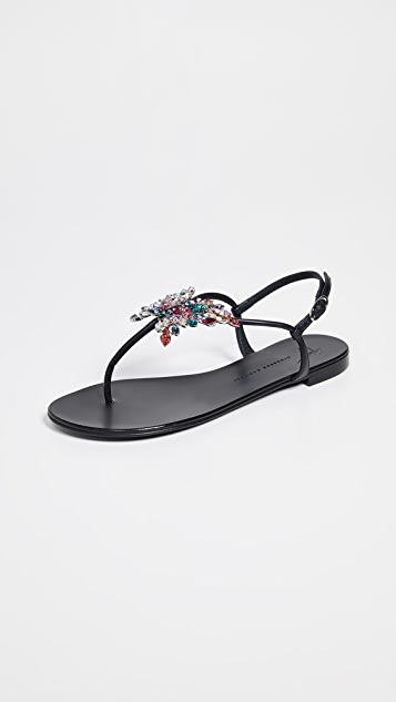 cb70fb3088a73c Giuseppe Zanotti Nuvòrock 10 Sandals