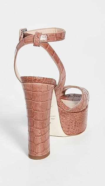 Giuseppe Zanotti Lavinia 80mm Platò Sandals