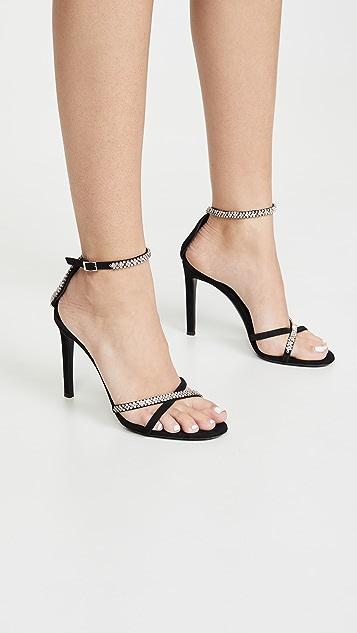 Giuseppe Zanotti 基本款凉鞋 105mm