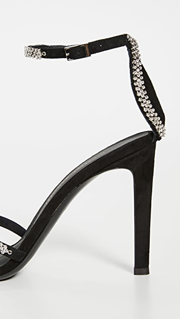 Giuseppe Zanotti Сандалии Basic на каблуках высотой 105мм