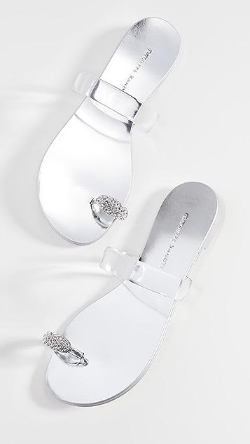 Giuseppe Zanotti 趾带凉拖鞋