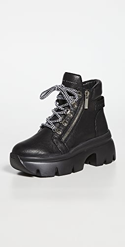 Giuseppe Zanotti - Lace Up Ankle Hiker Booties