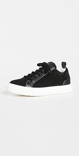 Giuseppe Zanotti - 丝绒运动鞋