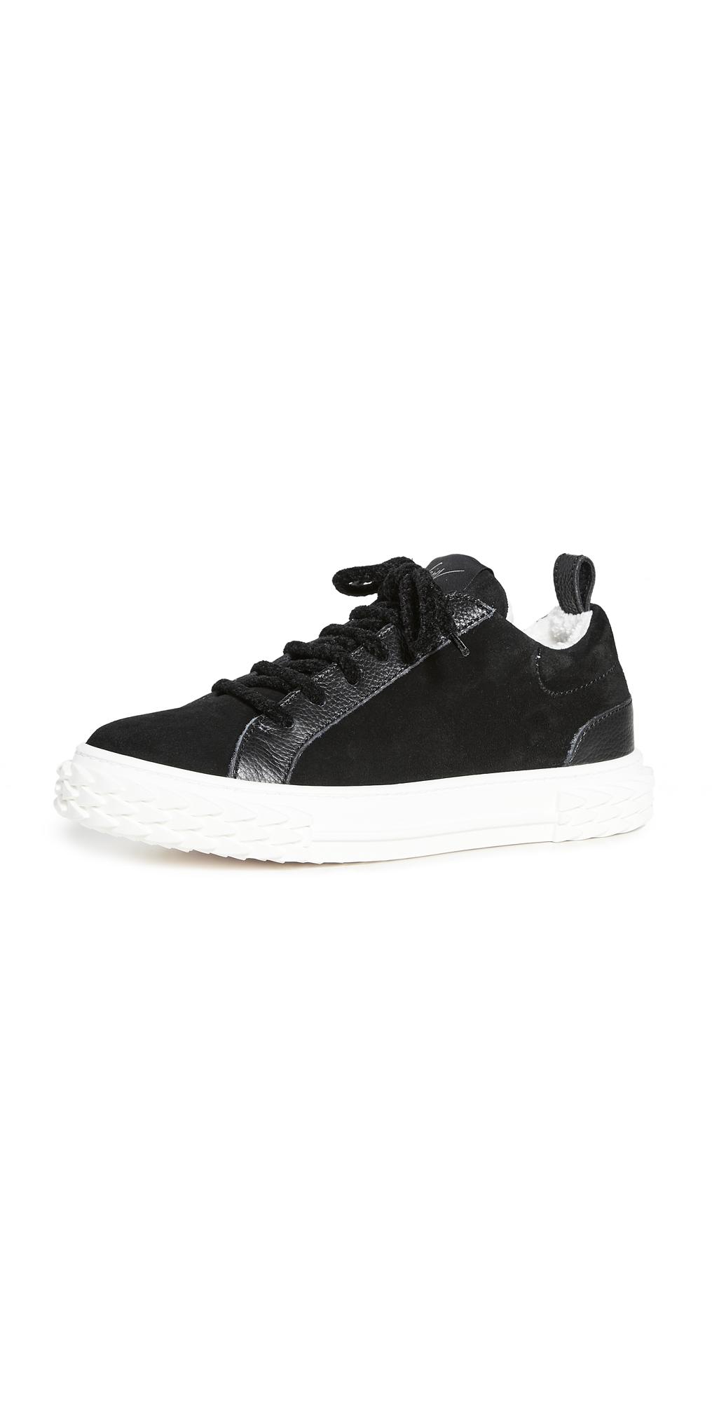 Giuseppe Zanotti Velour Sneakers