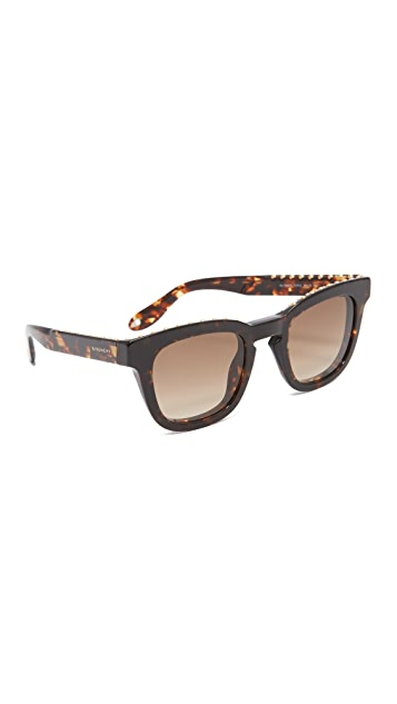 5ca18aec09d Givenchy Studded Sunglasses