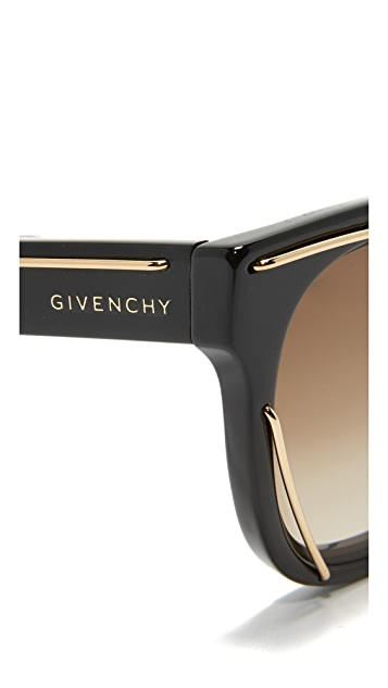 Givenchy Metal Accent Sunglasses