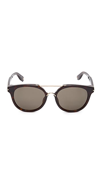 Givenchy Round Aviator Sunglasses