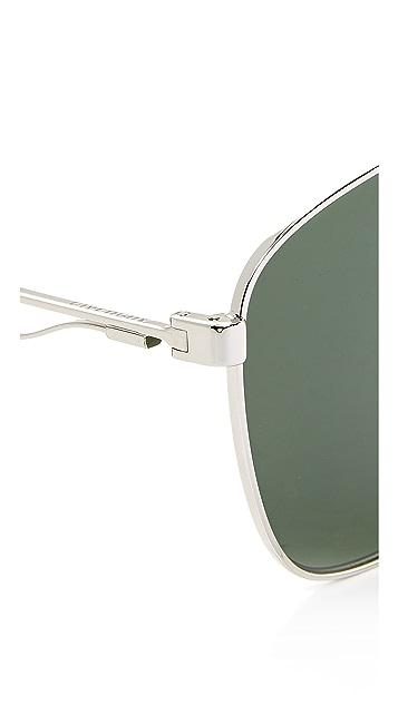Givenchy Square Aviator Sunglasses