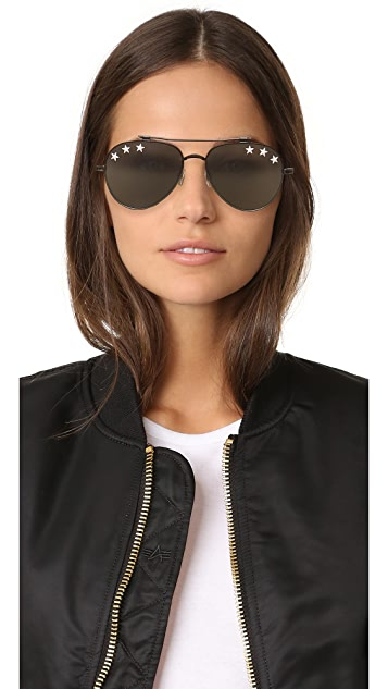 Givenchy Stars Aviator Sunglasses