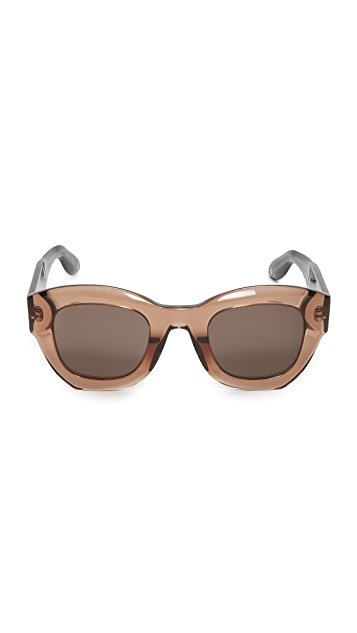 Givenchy Thick Frame Sunglasses
