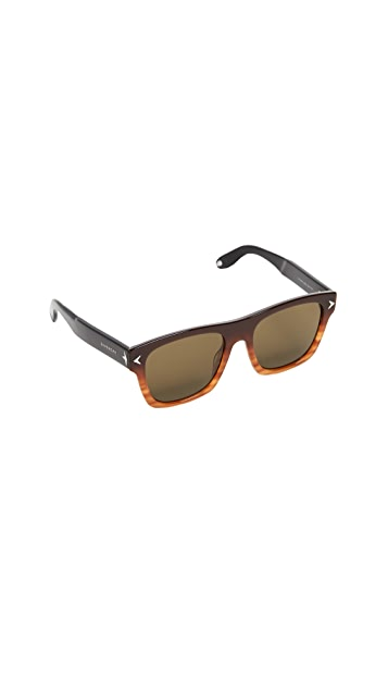 Givenchy Square Gradient Frame Sunglasses