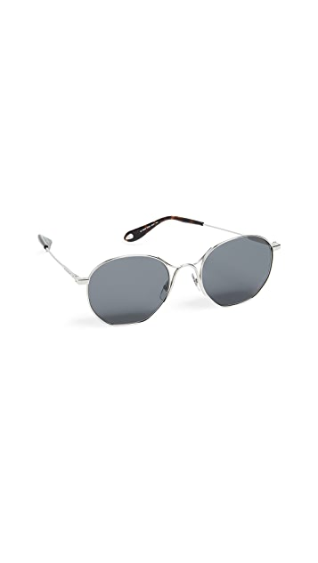 Givenchy Round Metal Frame Sunglasses