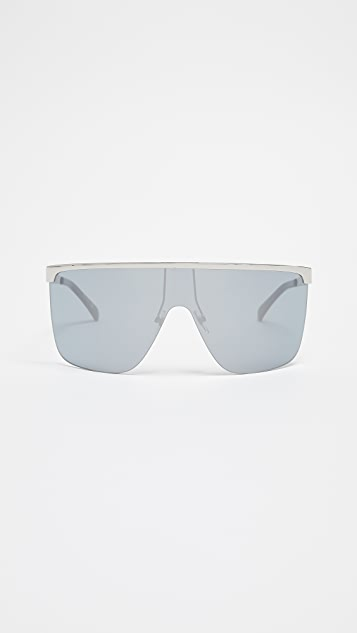Givenchy Square Aviator Sunglasses