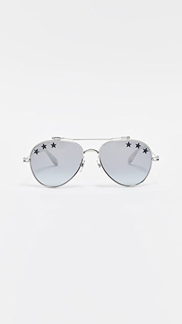 259b6532e29f1 Givenchy Star Aviator Sunglasses
