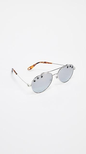 Givenchy Star Aviator Sunglasses