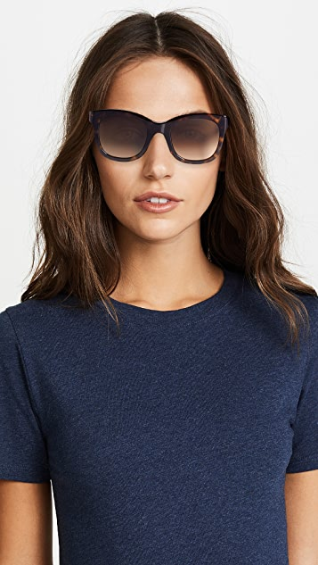 Givenchy Classic Square Sunglasses