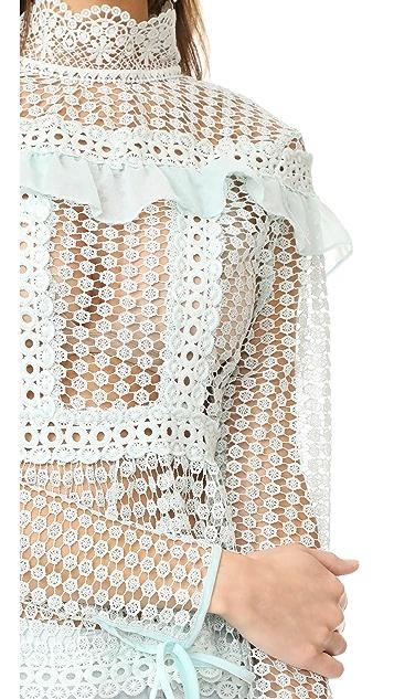 Glamorous Lace Blouse