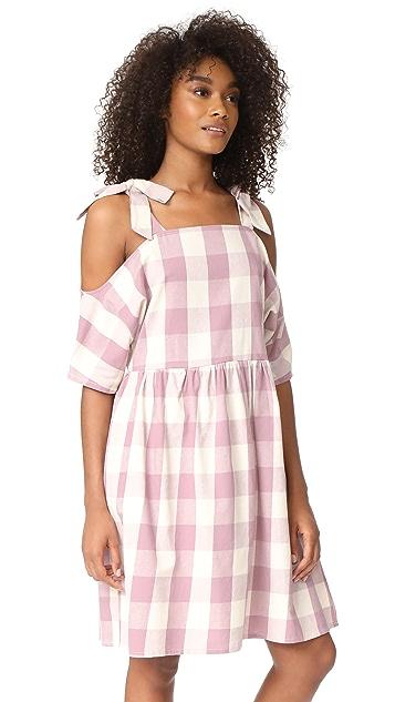Glamorous Gingham Dress