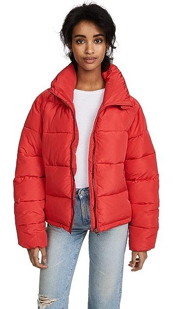 Glamorous Cropped Puffer Coat