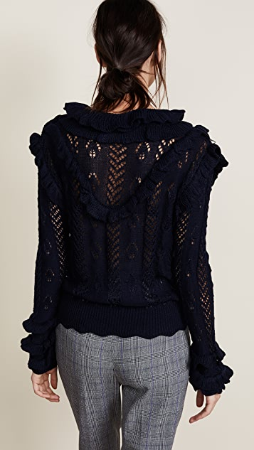 Glamorous Ruffle Sweater