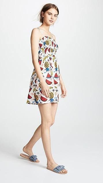 Glamorous Smocked Fruit Dress