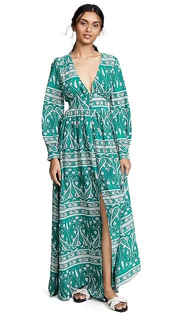 Glamorous Платье с узором «павлиний глаз»