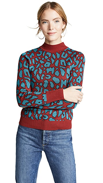 Glamorous Leopard Sweater