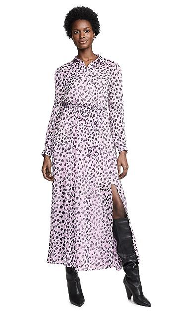 Glamorous Lilac Dalmatian Dress