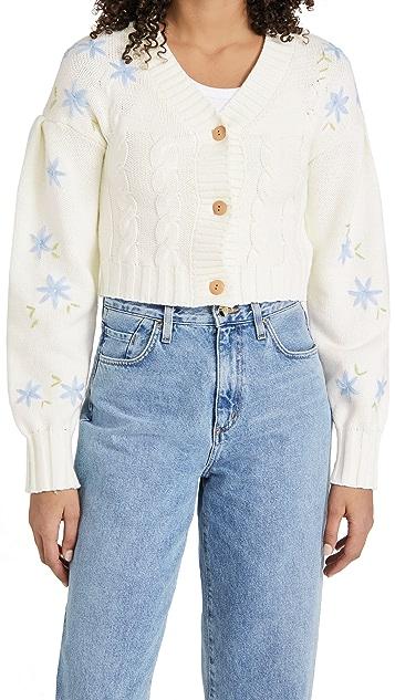Glamorous Cable Cardigan Sweater