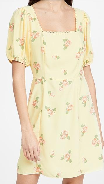 Glamorous 花朵迷你连衣裙