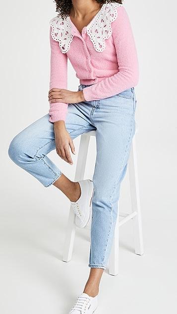 Glamorous Lace Collar Cardigan