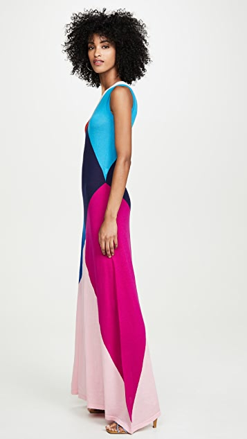 Victor Glemaud Sleeveless Multi Gown