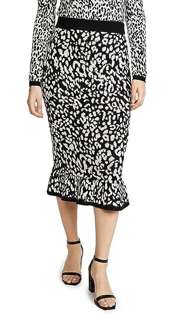 Victor Glemaud 羊毛长款半身裙