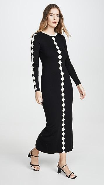 Victor Glemaud Contrast Dress