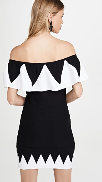 Victor Glemaud Off The Shoulder Dress