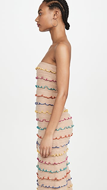 Victor Glemaud Многоуровневое платье